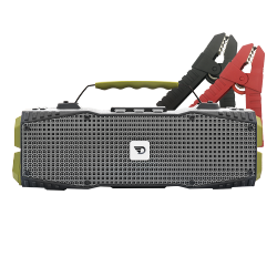 Dreamwave Audio - Survivor - 30W Outdoor Bluetooth Speaker w/ Car Jump Starter and LED Flashlight