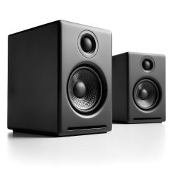 Audioengine A2+ Powered Desktop Speakers (Black)