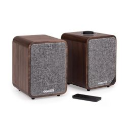 Ruark Audio MR1 Mk2 Bluetooth Speaker System Walnut