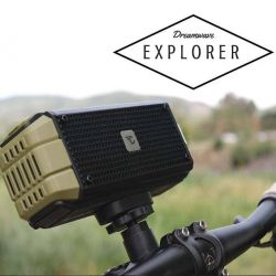 Dreamwave Audio - Explorer - 15W Bluetooth Speaker w/ Bicycle Mount