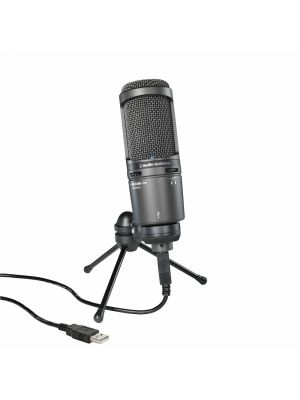 Audio Technica AT2020 Plus Cardioid Condenser USB Microphone