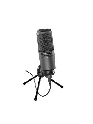 Audio Technica AT2020i Cardioid Condenser USB Microphone with Lightning Connectors for IOS