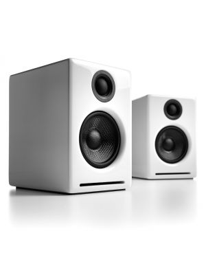 Audioengine A2+ Powered Desktop Speakers (White)