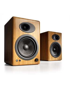 Audioengine A5+ Powered Desktop Speakers (Bamboo)