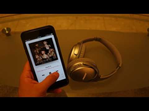 Bose QuietComfort 35 Wireless Headphones Video Review