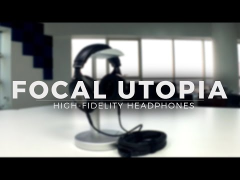 Focal Utopia Headphones Unboxing