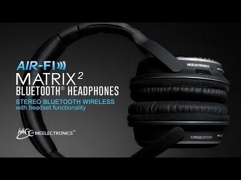 Introduction to the MEE audio Matrix2 Wireless Bluetooth Headphones