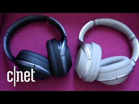 Sony updates its superb wireless noise-cancelling headphones