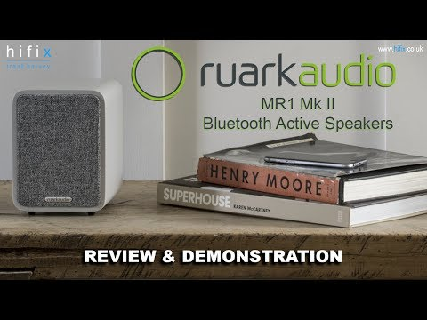 Ruark MR1 MkII Active Bluetooth Speakers Review & Demonstration