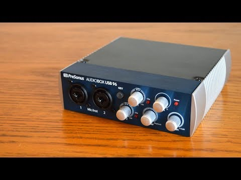 PreSonus Audiobox USB 96 Review