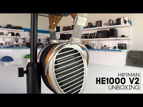 Hifiman HE-1000 V2 Headphones Unboxing