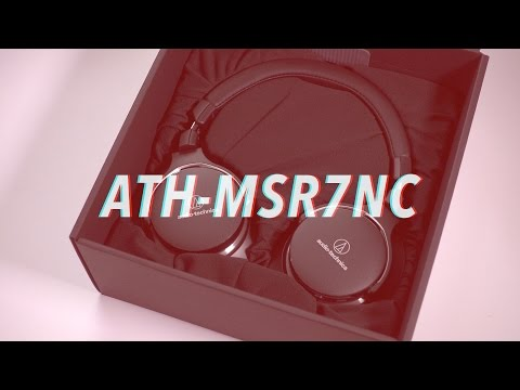 Hands-on: Audio-Technica ATH-MSR7NC Active Noise Cancelling Headphones