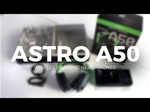 Astro A50 Gaming headset Xbox Unboxing