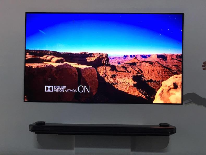 تلفاز LG W7 tv