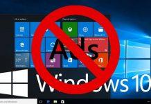 إزالة الإعلانات من ويندوز 10
