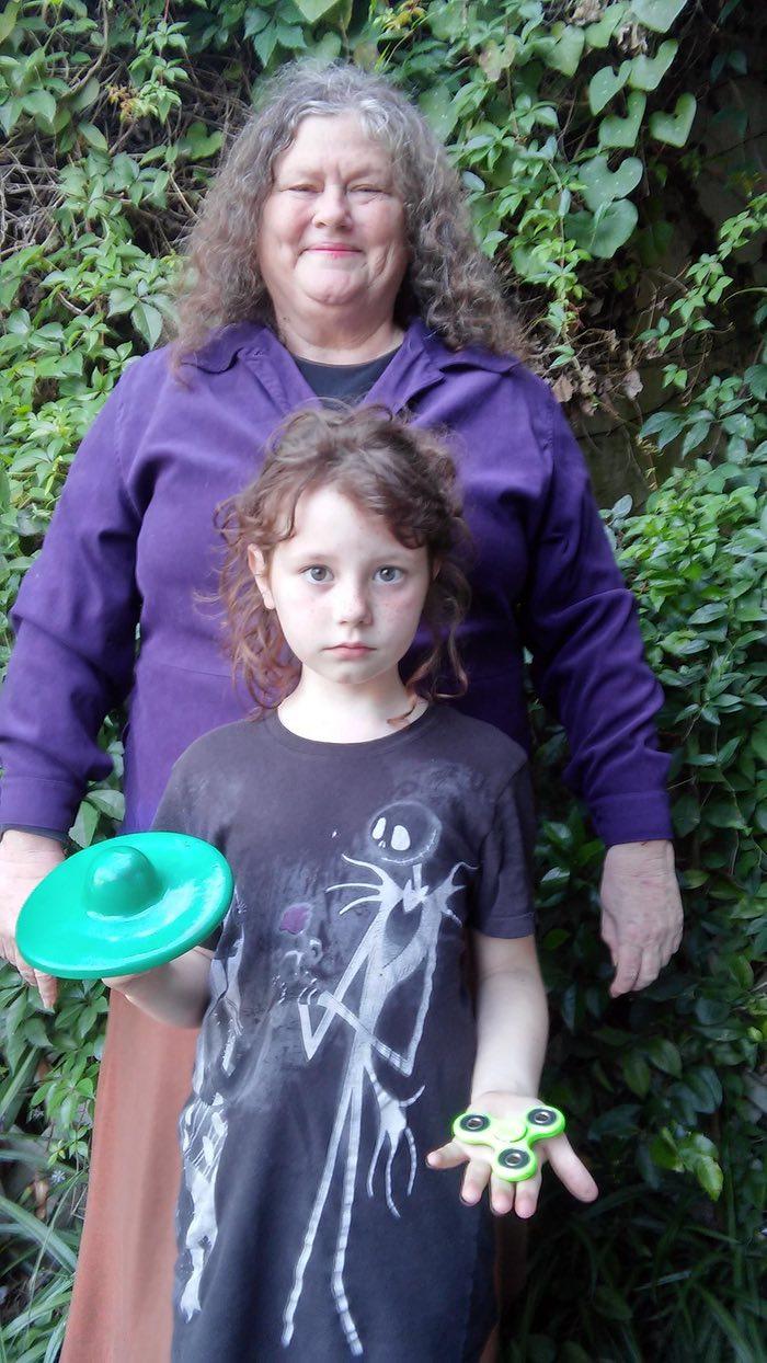مخترعة سبينر المزيلة للتوتر وابنتها