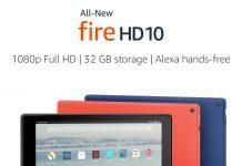 أمازون تُطلق تابلت Fire HD 10 بشاشة 10.1 بوصة لتُنافس iPad Pro 10.5