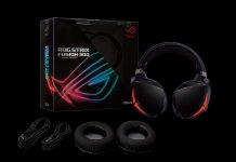 سماعات رأس للألعاب Asus ROG Strix Fusion 300