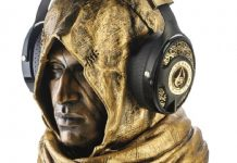 Assassin's Creed: Origins Utopia Headphones gold