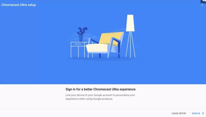 البريد الالكتروني chromecast
