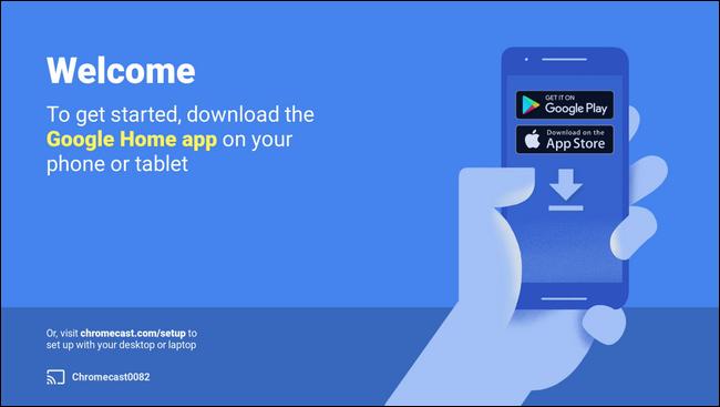 تطبيق جوجل هوم معchromecast