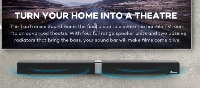 ساوندبار Soundbar من شركة taotronics