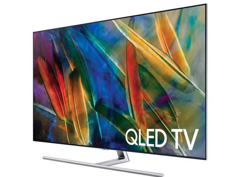 أفضل تلفاز بدقة 4K للألعاب من حيث الألوان Samsung Q7F QLED