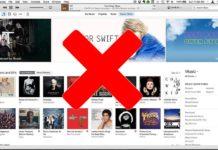 ايقاف خدمة تحميل الأغاني من iTunes