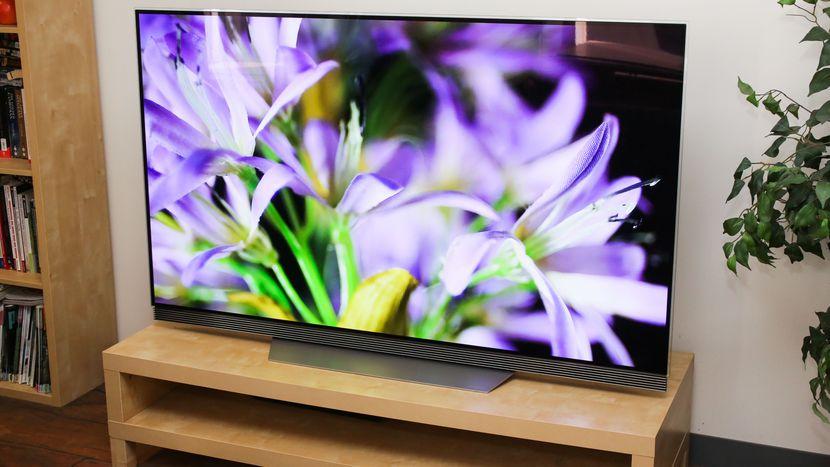 افضل شاشة 4k للالعابعلى الإطلاق LG E7 OLED