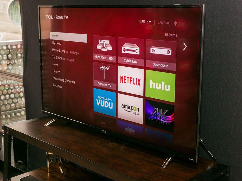 أفضل تلفاز بدقة 4K للألعاب منحيث السعر TCL Roku 55P607