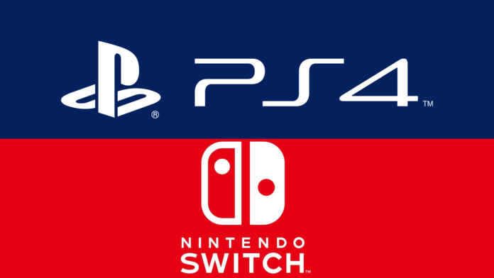 Nintendo Switch PS4 controller