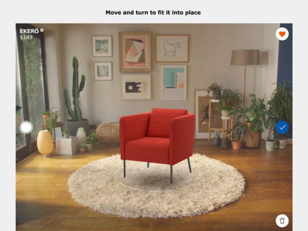 """تطبيق """"IKEA Place"""" لتجربة الأثاث قبل شرائه متاح الآن على أندرويد ..."""