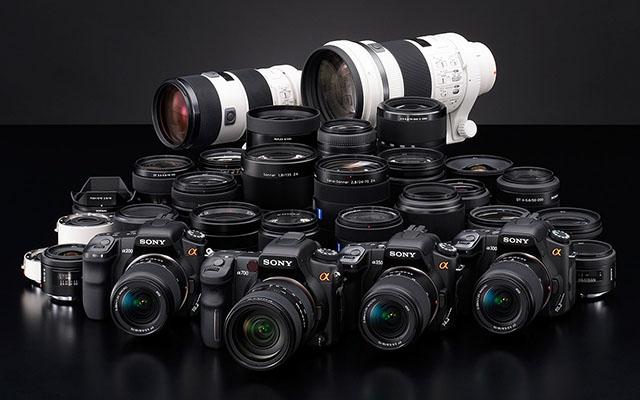 كاميرات شركة سوني