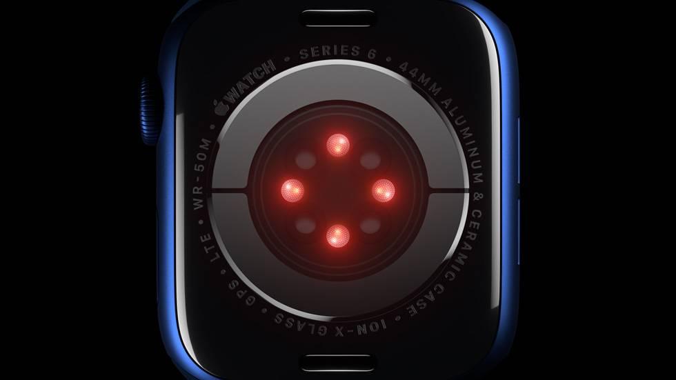 ساعة Apple Watch Series 6 تقدم قدرات مُذهلة لصحتك ولياقتك البدنية - سماعة تك