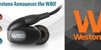 westone w80 headphone