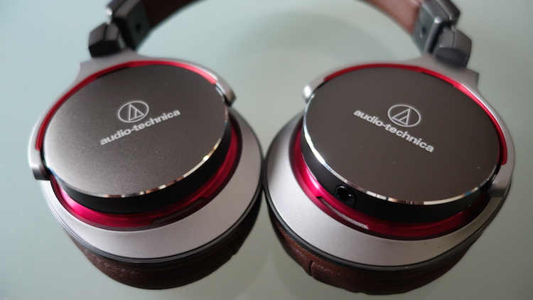 Audio Technica ATH-MSR7 SonicPro Over ear Headphones IOS and Android Review