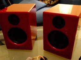 Audioengine A2+ Powered Desktop Speakers Red Review