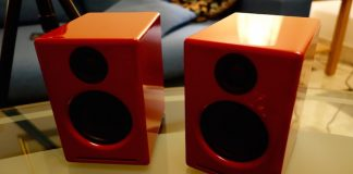 Audioengine A2+ Powered Desktop Speakers Red Review