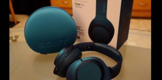 Sony h.ear on Wireless NC MDR100ABN Headphone Video Review