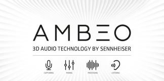 Ambeo 3D Audio in ear headphones