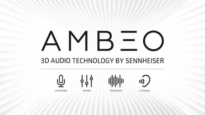 Ambeo 3D Audio in ear headphones