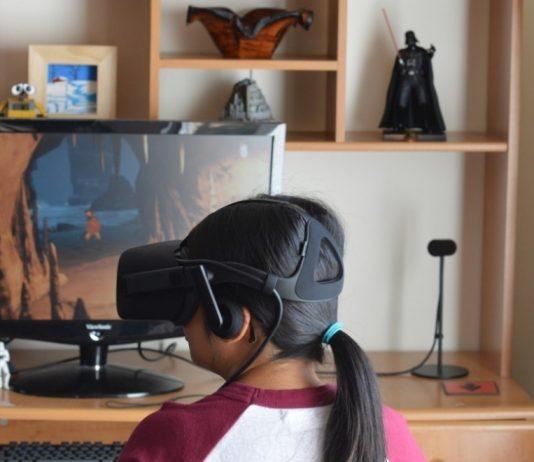 Eye Tracking VR Headset