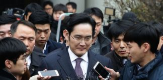 samsung chairman arrested