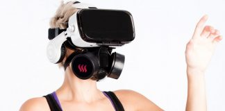 """You can now """"Sniff"""" the VR Field using Camsoda's new gas mask"""