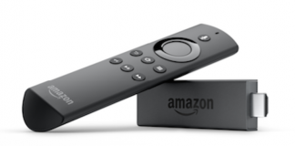 new Fire TV Stick from Amazon