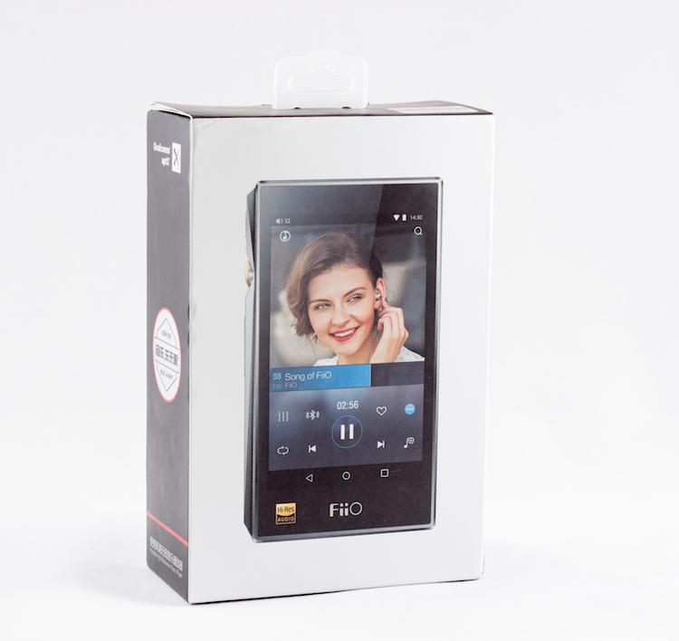 FiiO X5 3rd Gen box