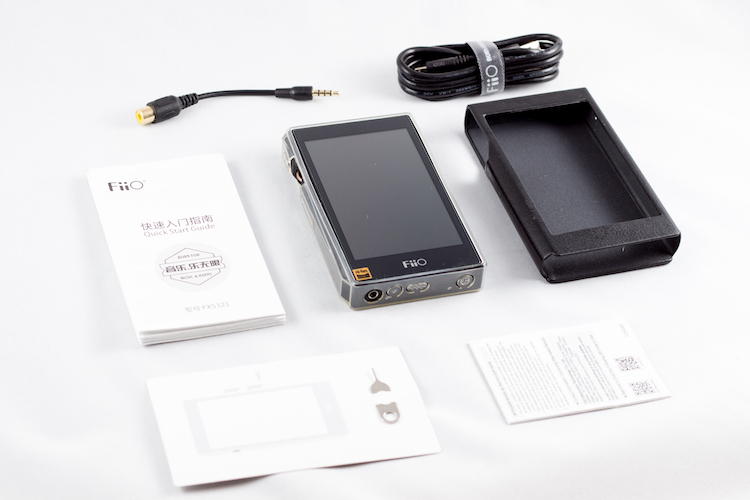 FiiO X5 3rd Gen what is in the box