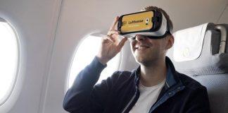 Lufthansa VR virtual glass bottom plane