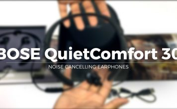 Bose QC30 noise cancelling headphones Unboxing Video