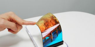 Samsung stretchable AMOLED